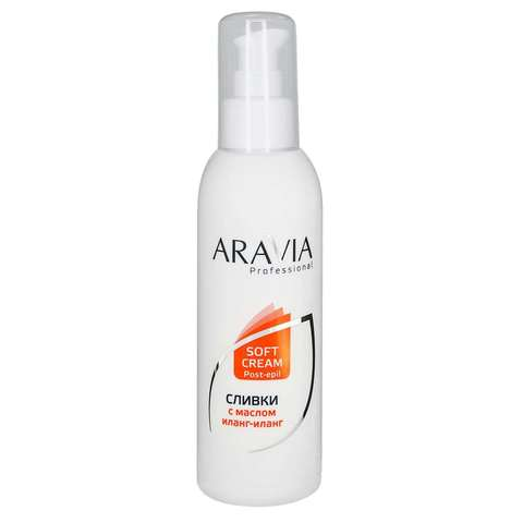 Aravia Professional Сливки для восстановления рН кожи с маслом иланг-иланг 150г