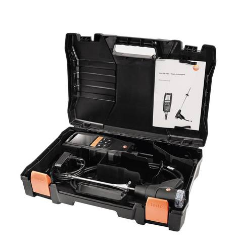 Комплект газоанализатора Testo 320 с H2-компенсацией, +смарт зонд 510i, Описание газоанализатора testo 320 в комплекте с смарт зондом testo 510i (арт: 0563 3225)