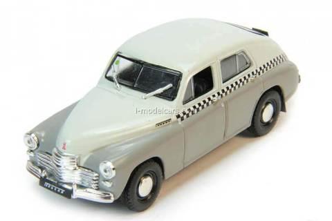 GAZ-M20 Pobeda 1:43 DeAgostini Auto Legends USSR #185