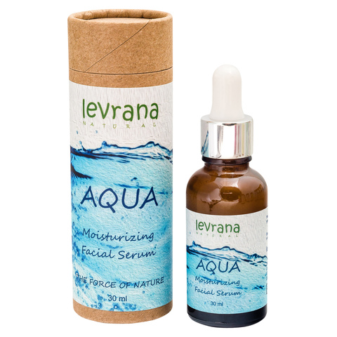 Levrana, Увлажняющая сыворотка для лица AQUA, 30мл
