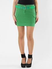 7158 юбка зеленая