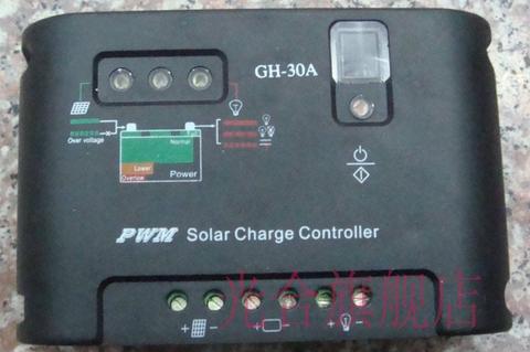 Солнечный контроллер заряда 12/23в. 30а