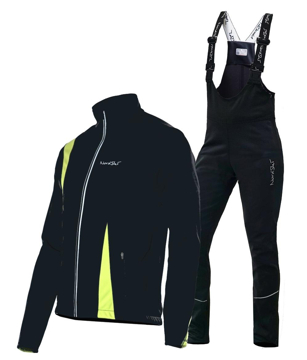 Мужской разминочный лыжный костюм Nordski Active (NSM321180)