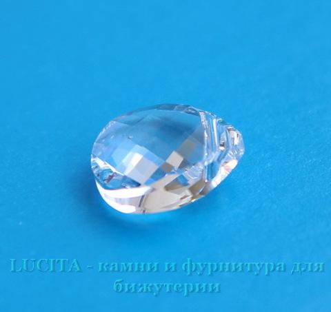 6012 Подвеска Сваровски Flat Briolette Crystal (11x10 мм) ()