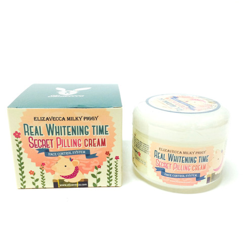 Крем для лица Elizavecca Real Whitening Time Secret Pilling Cream 100ml.
