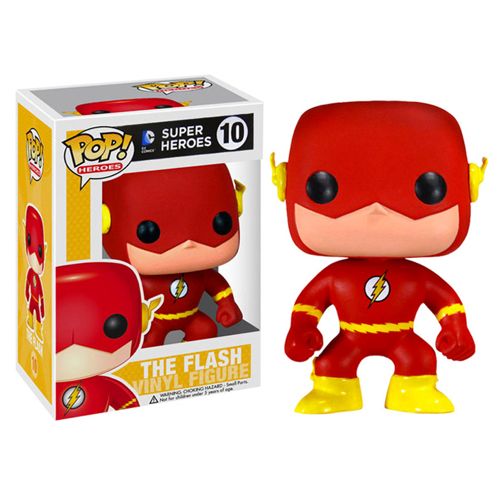 Фигурка FunkoPOP! Super Heroes DC «The Flash / Флеш» 10