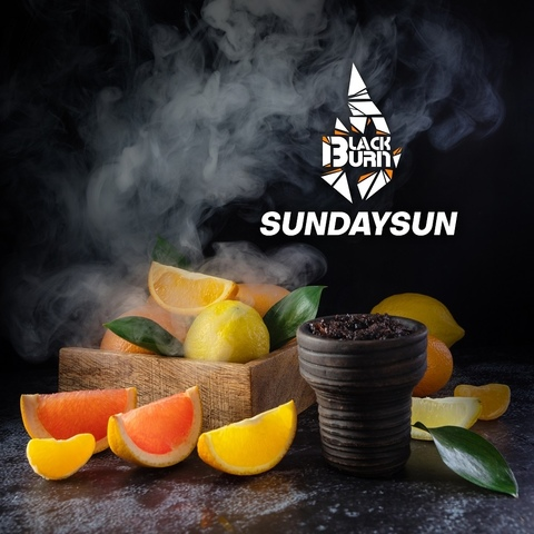 Табак Burn Black Sundaysun 200 г