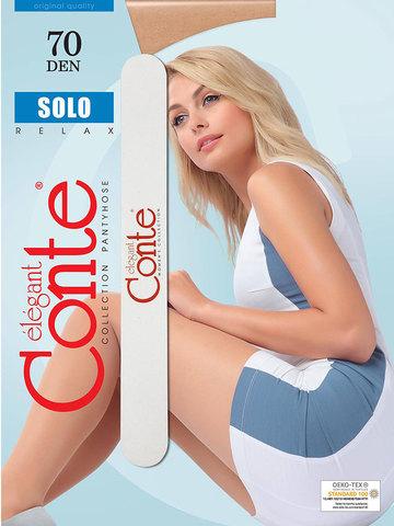 Колготки Solo 70 (с пилочкой для ногтей) Conte