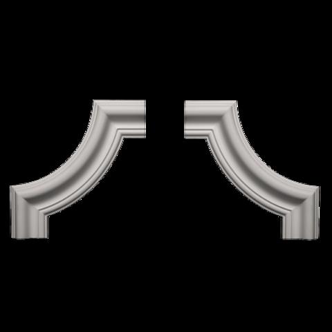 Угловой элемент Европласт из полиуретана 1.52.302, интернет магазин Волео