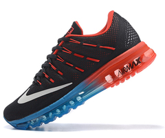 Кроссовки Мужские Nike Air Max 2016 Double Blue Red