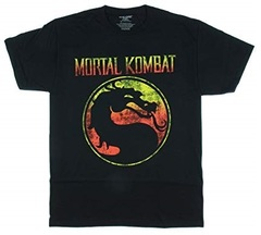 Мортал Комбат футболка с Логотипом