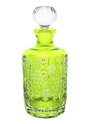 Декантер для виски 700мл Ajka Crystal Grape светло-зеленый