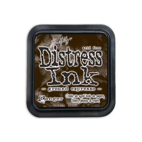 Подушечка Distress Ink Ranger - ground espresso