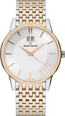 Купить мужские наручные часы Claude Bernard 63003 357RM AIR по доступной цене