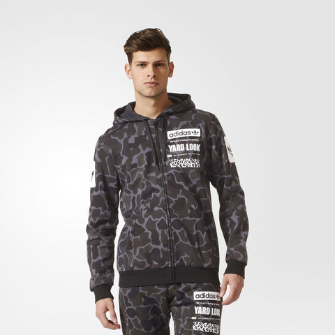 Толстовка мужская adidas ORIGINALS STREET GRAPHIC CAMOUFLAGE