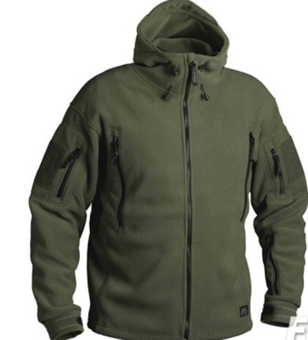 Флисовая куртка Helikon PATRIOT (Double Fleece) Олива