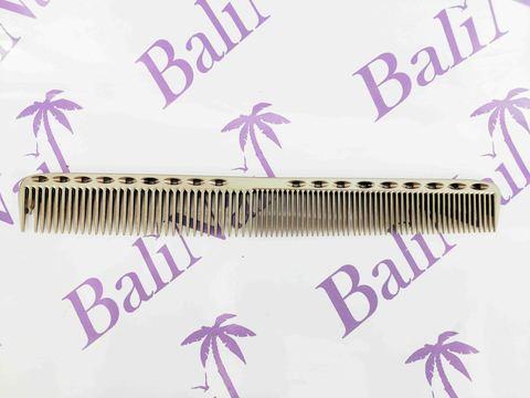 Расчёска профессиональная металлическая (металлик)