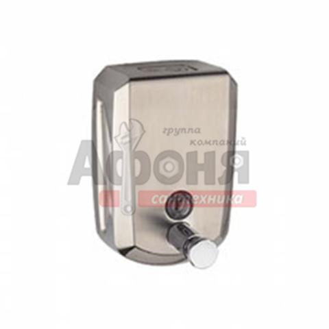 404/L Дозатор для жидкого мыла 0,5л металлический