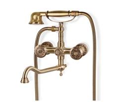 Смеситель для ванной (излив 25 см) Bronze de Luxe 10119D