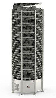Серия Tower: Электрическая печь SAWO TOWER TH6-90NS-WL-P (9 кВт, выносной пульт, пристенная) электрокаменки комплект sawo set002 электрическая печь tower th6 90ni wl пристенная пульт управления innova classic s inc s