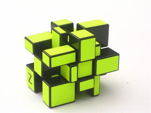 Z-Cube 3x3x3 Зеркальный куб Салатовый