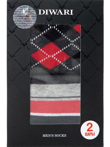 Мужские носки Happy 17С-68СП (2 пары) рис. 719 DiWaRi