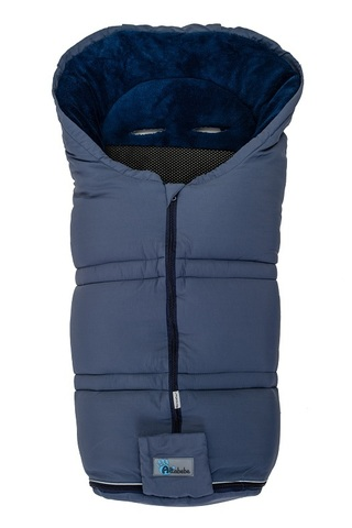 AL2278SX Altabebe Зимний конверт  Sympatex (grey blue/navy blue)