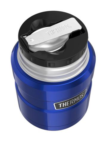 Термос для еды Thermos King SK3000BL (0,47 литра), синий