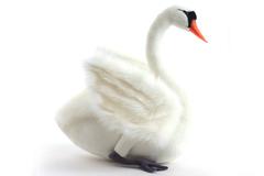 Hansa Лебедь белый, 45 см (4083)
