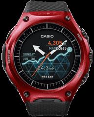 Умные часы Casio WSD-F10RD Smart Outdoor Watch