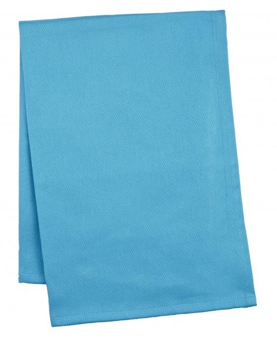 Кухонное полотенце 70х50 ZONE GOURMET CONFETTI 603172Кухонные полотенца<br>Нежный органический хлопок – именно то, что нужно вашей коже после суеты на кухне, жесткой воды из-под крана и температурных перепадов. Яркая небесно-бирюзовая расцветка полотенца не выцветет даже после нескольких десяток стирок. Используйте полотенце и для рук, и для повседневных нужд – просушить чистую посуду, вытереть со стола влагу и так далее.<br>