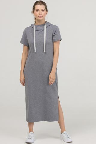 Платье Summer серый меланж