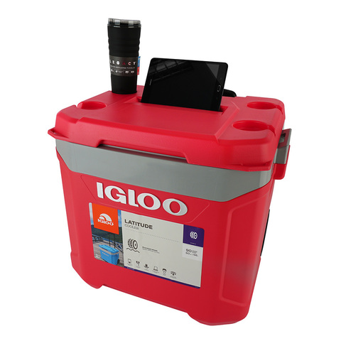Изотермический контейнер (термобокс) Igloo Latitude 60 Roller (термоконтейнер, 57 л.)