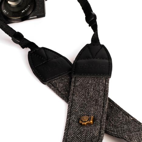 Ремень для фотоаппарата в ёлочку (Коричневый)