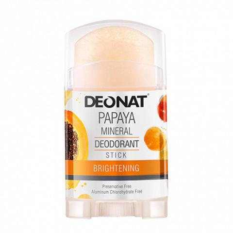 Deonat, Дезодорант Кристал с экстрактом ПАПАЙИ (twist-up), 100гр