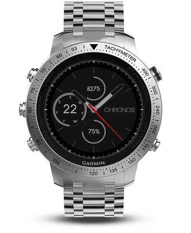 Купить Умные наручные часы Garmin Fenix Chronos (стальной корпус и браслет) 010-01957-02 по доступной цене