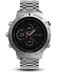 Умные наручные часы Garmin Fenix Chronos (стальной корпус и браслет) 010-01957-02