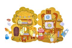Развивающая игра из фетра Белкин домик, Smile Decor