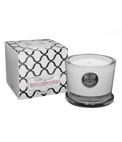 Ароматическая свеча малая Белая смородина и роза, Aquiesse