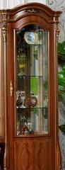 Витрина 1- дверная  Юлиана Левая/Правая (3172 MK-3037-BR) Темный орех
