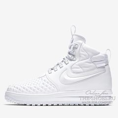 Кроссовки мужские Nike Air Force Mid Lunar DuckBoot 18 White