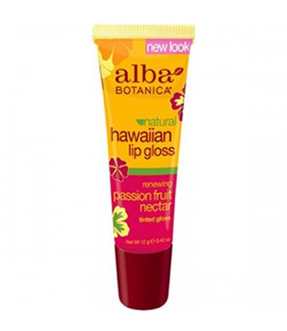Блеск-бальзам для губ с нектаром маракуйи, Alba Botanica