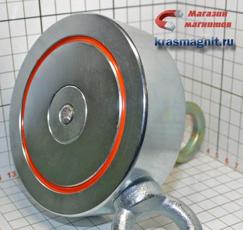 Двухсторонний поисковый магнит F-400Х2