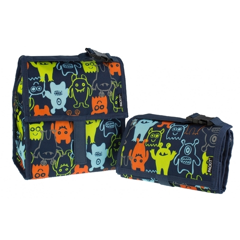 Сумка холодильник Lunch Bag Monsters