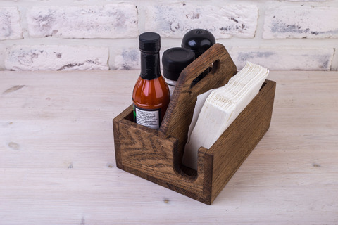 Spice&Napkin Holder 165 mm
