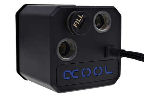 Alphacool Eisbaer (Solo) - 2600rpm - Black