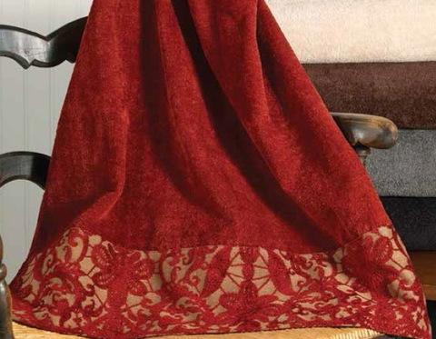 Полотенце 69х127 Avanti Tatiana красное