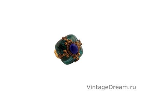 Эффектное кольцо в винтажном стиле от Patrice