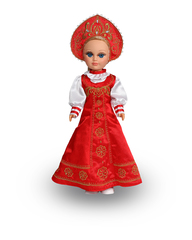 Кукла Анастасия Весна Русская красавица, со звуком, 42 см