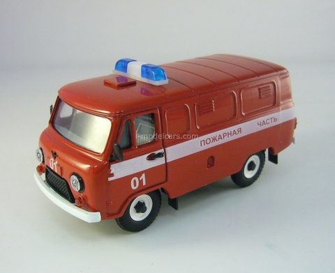 UAZ-3741 Fire Department 1:43 Agat Mossar Tantal